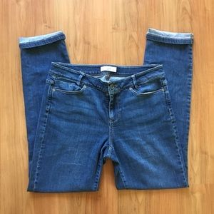 J. Jill Weekender Straight Leg Denim Jeans Size 6